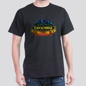 Breckenridge Mountain Emblem Dark T-Shirt
